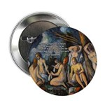 "Cezanne Landscape Nude 2.25"" Button (10 pack)"