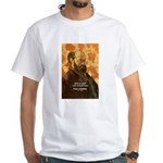 Cezanne Famous Paris Quote White T-Shirt