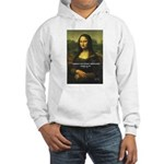 Mona Lisa: Da Vinci Quote Hooded Sweatshirt