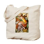 Words on Genius Michelangelo Tote Bag