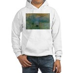 Claude Monet Torture Art Hooded Sweatshirt