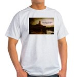 Rembrandt Painting & Quote Ash Grey T-Shirt