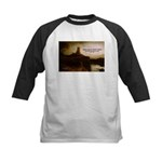 Rembrandt Painting & Quote Kids Baseball Jersey