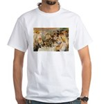 Renoir Quote and Landscape White T-Shirt