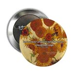 """Van Gogh Painting & Quote 2.25"""" Button (100 pack)"""