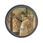 Aesop Quote Psyche Painting Wall Clock