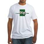 Let it ride Fitted T-Shirt