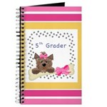 Pink 5th Grade Notebooks Journal